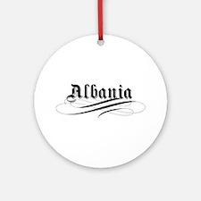 Albania Gothic Ornament (Round)