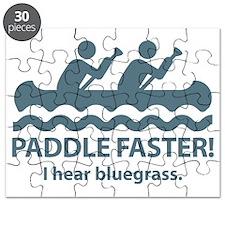 PaddleFasterIHearBlueGrass-Blue Puzzle