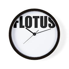 FLOTUS Wall Clock