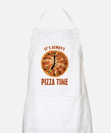 Its Always Pizza Time Apron