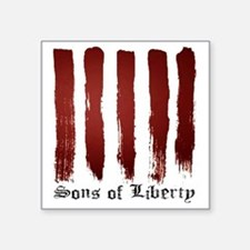 """Sons of Liberty Square Sticker 3"""" x 3"""""""