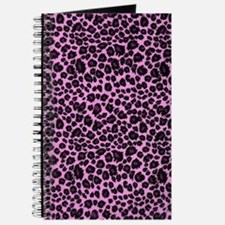 Purple Leopard Print Journal