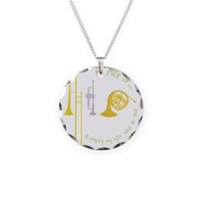 Be Nice Necklace Circle Charm