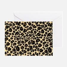 Leopard Print Greeting Card