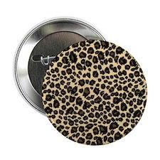 """Leopard Print 2.25"""" Button"""
