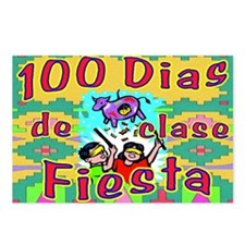 100th Day Fiesta Kids SP Postcards (Package of 8)