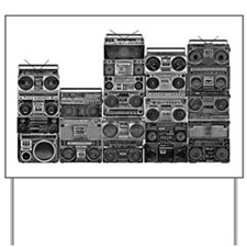 BOOMBOX COLLECTION Yard Sign