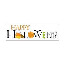 Happy Halloween Car Magnet 10 x 3