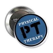 """Physical Therapy Logo 2.25"""" Button"""
