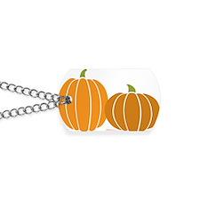 Pumpkins Dog Tags