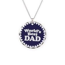 Worlds Best Dad Necklace