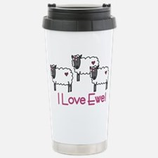 I Love Ewe Travel Mug
