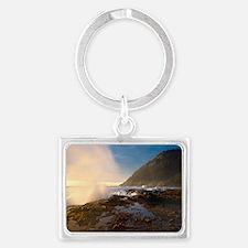 Cape Perpetua Landscape Keychain