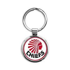Atlanta Chiefs Round Keychain