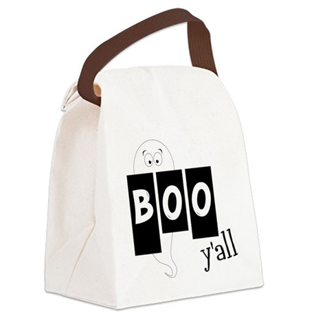 Boo 'Yall Canvas Lunch Bag