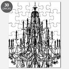 Vintage Chandelier Puzzle