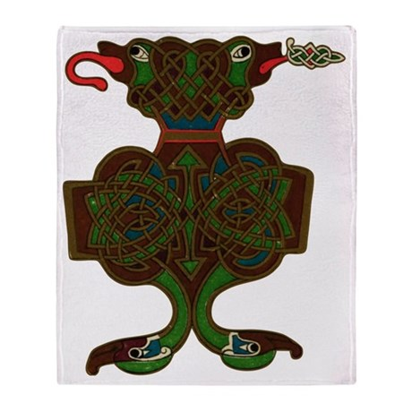 Celtic embellishment 8 Throw Blanket