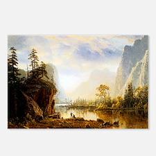 Albert Bierstadt Yosemite Postcards (Package of 8)