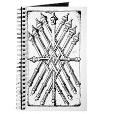 Medieval Ten of Batons Journal