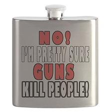 Guns Kill Flask