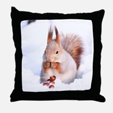 Red Squirrel Pillows, Red Squirrel Throw Pillows & Decorative Couch Pillows