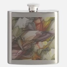 Colorful Abstract Flask