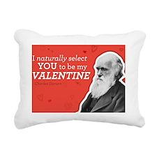 I Naturally Select You T Rectangular Canvas Pillow