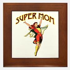 Super Mom Framed Tile
