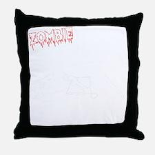 Zombie Hunters Throw Pillow