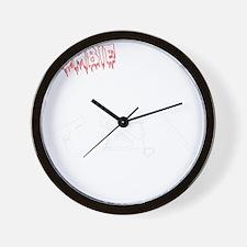 Zombie Hunters Wall Clock