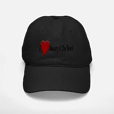 Beauty and The Beast Heart Design Baseball Hat