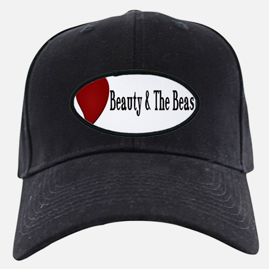 Beauty and The Beast Heart Design Baseball Hat