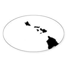 Hawaiian Islands Decal