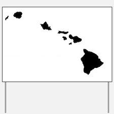 Hawaiian Islands Yard Sign