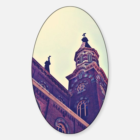 St. Marys Catholic Church Sticker (Oval)
