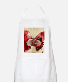 Red Butterfly Apron