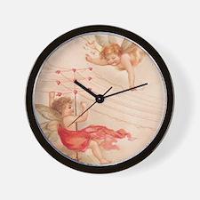 ca4_shower_curtain_kl Wall Clock