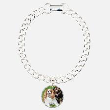 Happy Cavalier King Char Bracelet