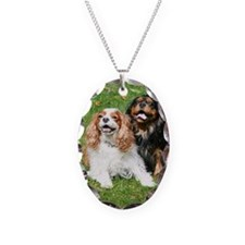 Happy Cavalier King Charles Sp Necklace