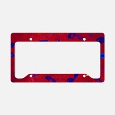 The Journey of 1,000 Miles License Plate Holder
