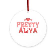 Aliya Ornament (Round)