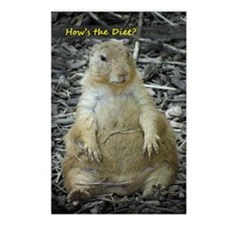 Hows the Diet? Postcards (Package of 8)