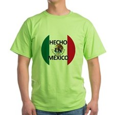 Hecho En Mexico - Con Bandera - Made T-Shirt