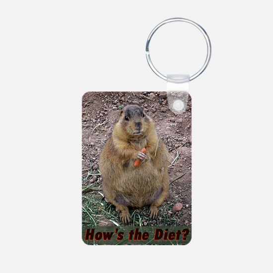 Hows The Diet Keychains