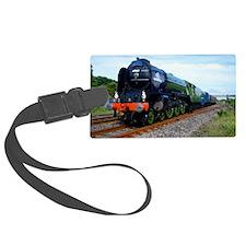 Flying Scotsman - Steam Train Luggage Tag