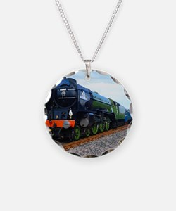 Flying Scotsman - Steam Trai Necklace