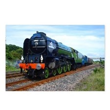 Flying Scotsman - Steam T Postcards (Package of 8)