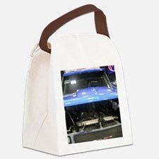GMC Under The Hood Racing Truck Canvas Lunch Bag