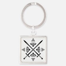 The Holy Order of The Celtic Circl Square Keychain