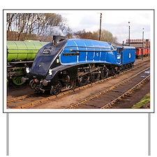 Sir Nigel Greasley - Steam Train Yard Sign